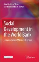 Social Development in the World Bank