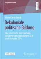 Dekoloniale politische Bildung
