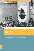 May '68: Shaping Political Generations